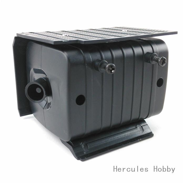 [HERCULES HOBBY] TAMIYA 1/14 Tractor Truck Accessories Plastic Exhaust Tank - HERCULES HOBBY store
