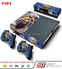 New Design For Microsoft Xbox One Console Game Sticker Cover Vinyl Decals and Controllers Skins for Xbox One Sticker