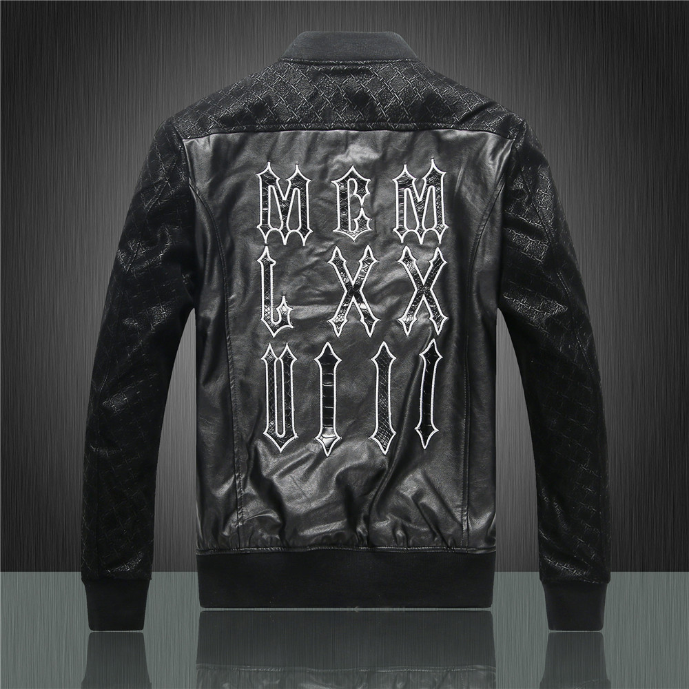 2015 new mens slim leather PU tide hot Hip hop bomber jackets leather snake flower men leather motorcycle jacket biker coatОдежда и ак�е��уары<br><br><br>Aliexpress