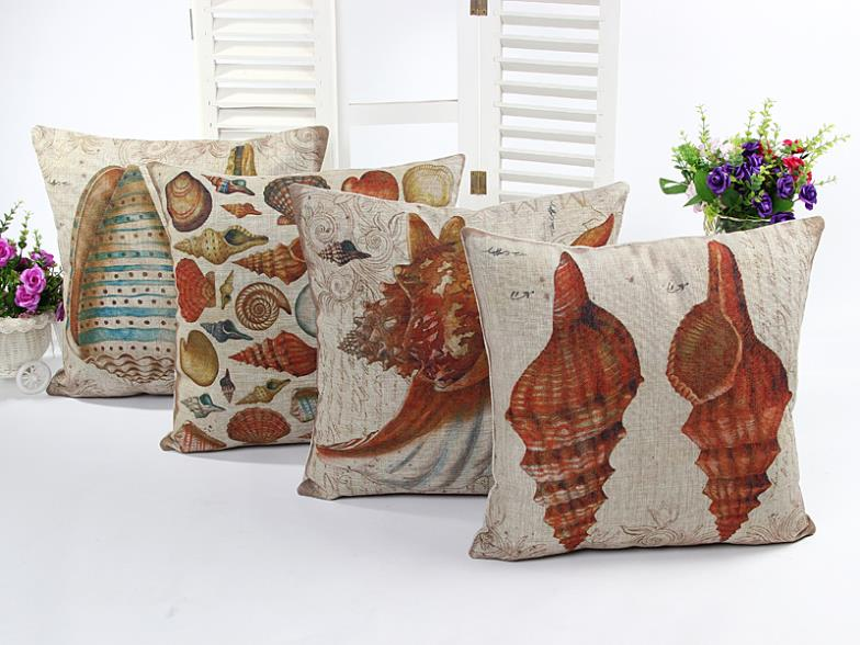 Almofadas Decorativas Decorative Cushion Sea Shell