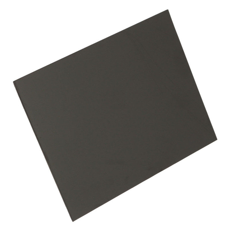 1pc ABS Styrene Plastic Flat Sheet Plate 1.5mm x 200mm x 250mm, Black #EH-3 Best Price(China (Mainland))