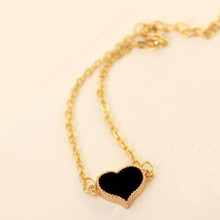 NS1 מכירה לוהטת מקסים לב צמידים וצמידים לנשים בנות זהב כסף צבע מתכת צמידי הצהרת תכשיטים סיטונאי(China)