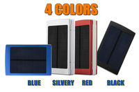 2015 bateria externa external battery New Solar Power Bank 30000mah solar charger powerbank for iPhone for HTC for PSP