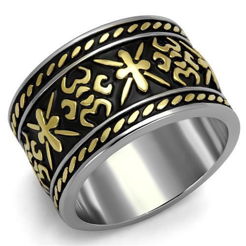 Fashion Secret New Fashion Stainless Steel Epoxy Ring High Polished Classic Rings Environmental Friendly Lead & Nickel Free(China (Mainland))