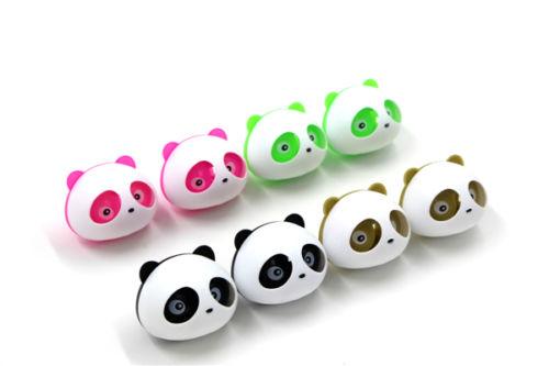 1Pcs car Air Freshener Blink Lovely Mini Panda Perfume Car air freshener 4 Color Free Shipping(China (Mainland))