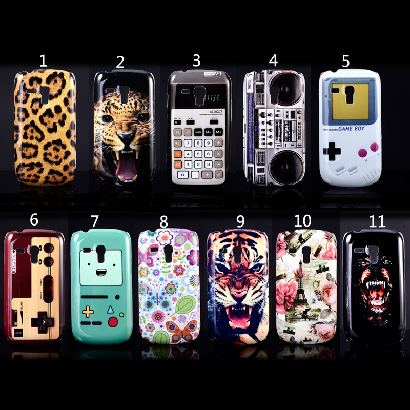 Cooling Case For Samsung Galaxy S3 : Cool style cute interesting painting pattern d