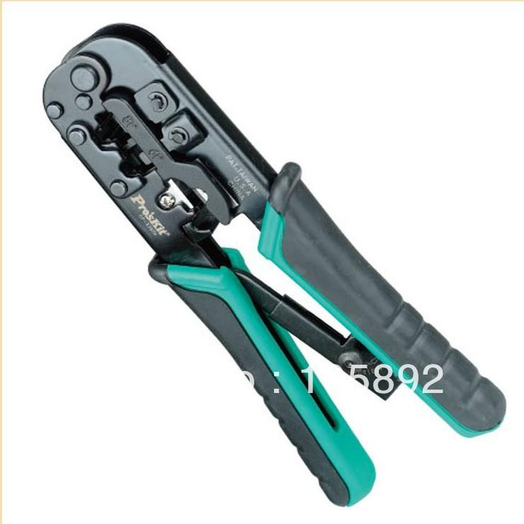 free shipping proskit 4p 6p 8p hand telecom crimping tool rj45 rj12 rj14 rj22 rj11. Black Bedroom Furniture Sets. Home Design Ideas