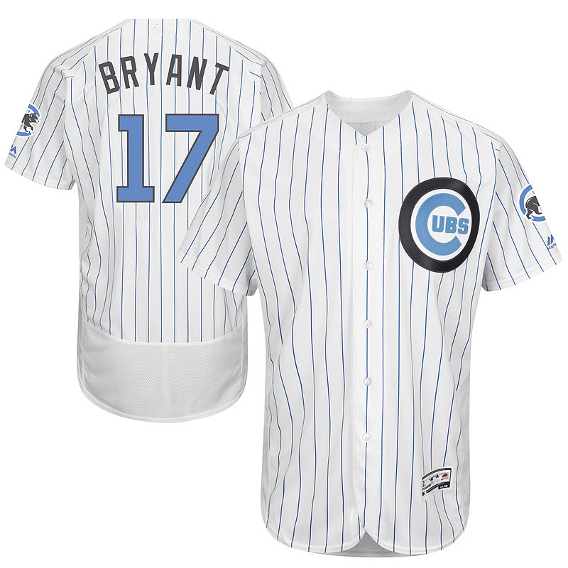 2016 new Men's 17 Kris Bryant Cub Father Edition throwback Jersey Cool Base baseball Jersey Size Quick delivery(China (Mainland))