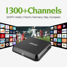 Buy M8S Android Smart TV Box 2g ram HD QHDTV IPTV Arabic Channels Subscription 1 year Europe French Italia UK iptv Set Top Box for $52.52 in AliExpress store