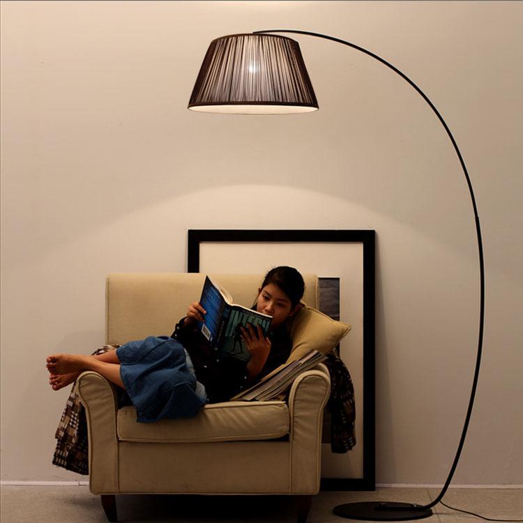 Nordic Style Floor Lamp Fishing Lamp Ikea Living Room Bedroom Den Creative Minimalist Modern