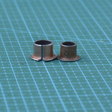 DIY 3D printer Reprap parts Copper bronze flange bearing base oil-free self-lubricating flange bushing stepped bush with ribs