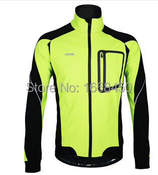 Гаджет  2015 ARSUXEO Bike Bicycle Clothing Windproof Waterproof Jersey Winter Warm Up Thermal Cycling Jacket  None Спорт и развлечения