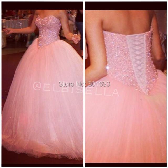 Bling Wedding Dresses Pink Bling Pink Wedding Dresses