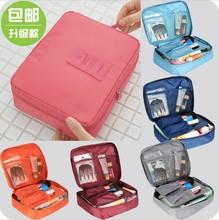 New 2016 Nylon Multifunction Make up Organizer bag Women Cosmetic bags Ourdoor Travel Bag Handbag Bolsas Free shipping(China (Mainland))