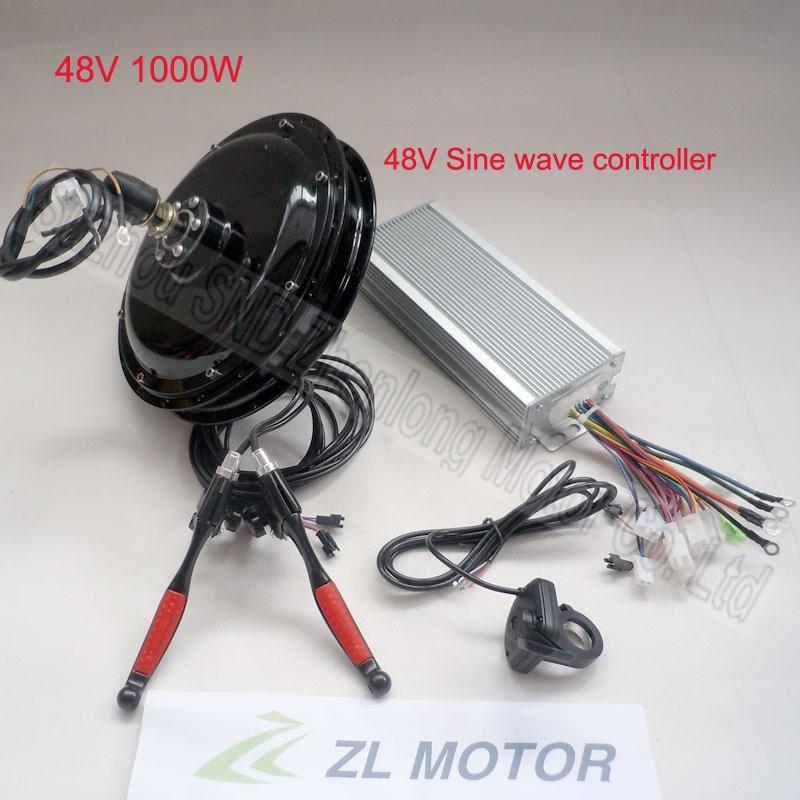 Customized electric bicycle spoke brushless hub motor 1000w 48V conversion kit/e-bike modify kits G-S006  -  Suzhou SND Zhenlong Motor Co. Ltd store
