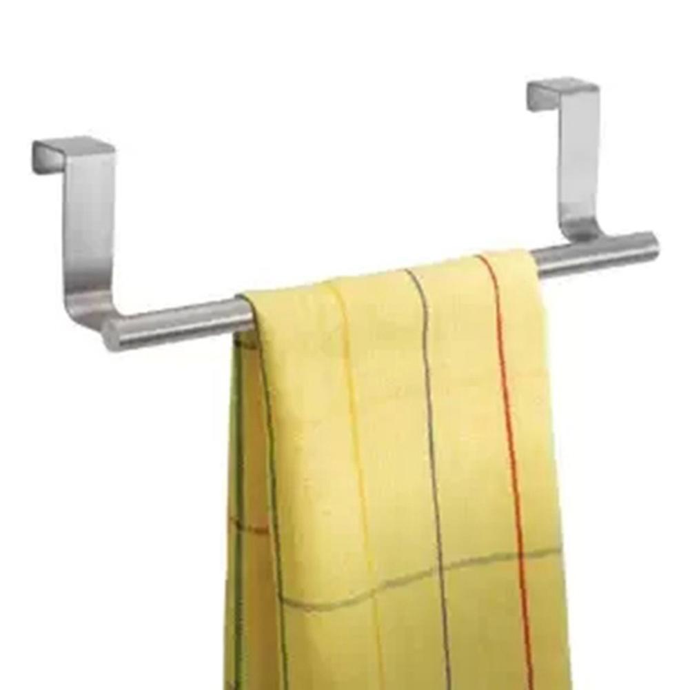 23/36cm Multi-functional Door Kitchen Towel Over Holder Drawer Hook Storage Bathroom Scarf Cabinet Hanger(China (Mainland))