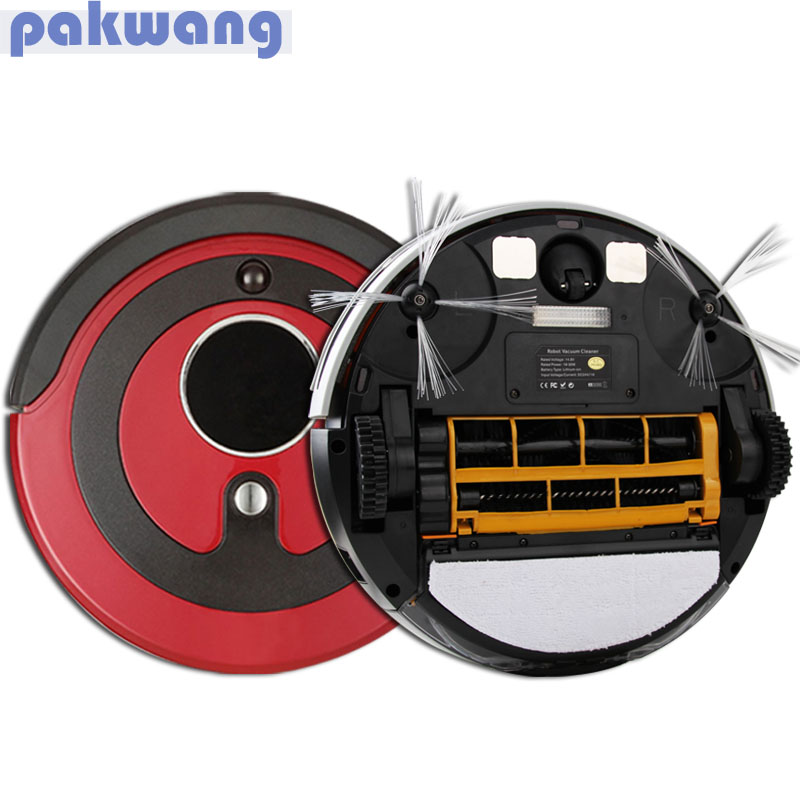 Robotic Vacuum cleaner For Home with UV Sterilizer Remote Control, Virtual Wall, Touch Screen Hoover Cleaner Self-chrage Cleaner(China (Mainland))