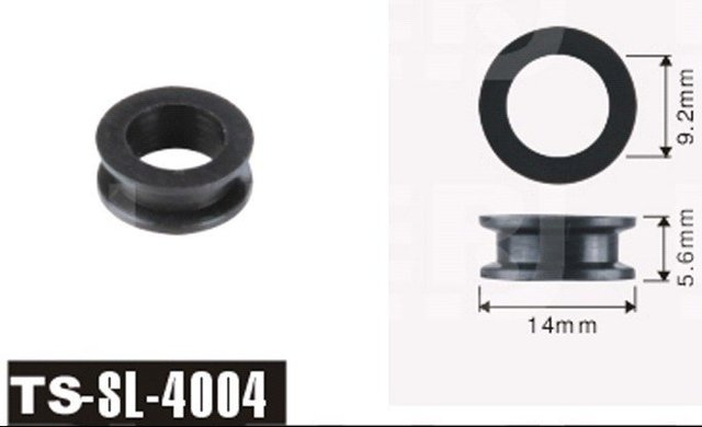 100/lot Free shipping! TS-4004 Fuel Injector rubber seal Grommet For Japan Car's fuel Injector Repair Kits