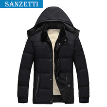 2014 Winter padded middle-aged men Dad elderly man's warm coat Casual fashion active men cotton Windproof jacket