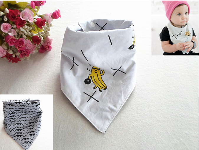 2015 New! Cotton Baby Bib/Infant Saliva Towels/Baby Waterproof Bibs/Newborn Wear/Cartoon Accessories/baby feeding burp cloths