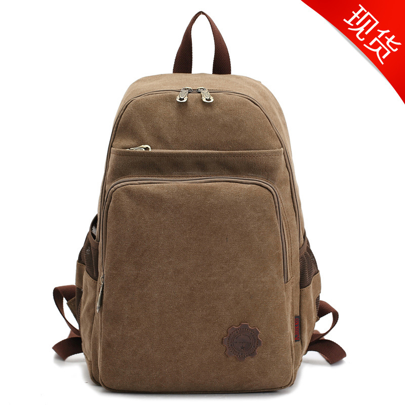 The FJ64s high road hot new canvas bag bag backpack female male lovers of outdoor travel bag<br><br>Aliexpress