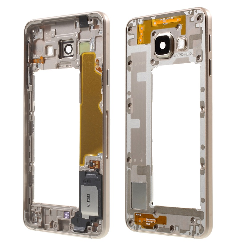 for Galaxy A3 SM-A310F (2016) OEM Middle Housing Frame for Samsung Galaxy A 3 SM-A310F (2016) with Small Parts(China (Mainland))