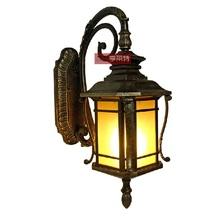 Mr Wright European outdoor waterproof wall lamp Courtyard garden villa village corridor wall lamp Hotel engineering wall lamp