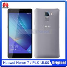 D'origine Huawei Honor 7 Kirin 935 Octa – Core 4 G LTE téléphone cellulaire 3 GB RAM 16 GB ROM Android 5.0 OS 5.2 » pouces 20.0MP caméra Smartphone