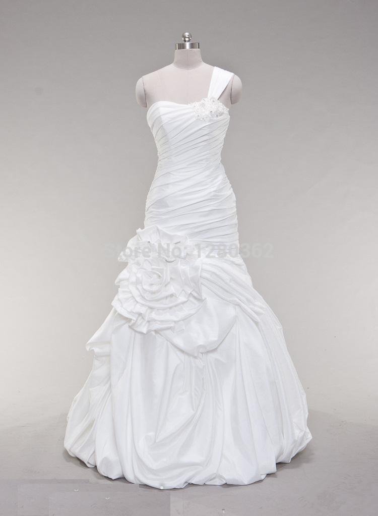 Online get cheap wedding dresses big hips for Wedding dresses for large hips
