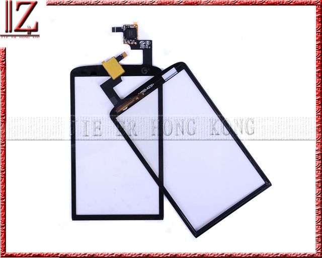 New and original Touch screen digitizer For ZTE V960 glass 50pcs/lot free shipping fedex 3-7days