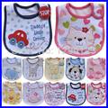 Hot Sale Cotton Baby Bib Infant Saliva Towels Baby Waterproof Bib Cartoon Baby Wear with Different