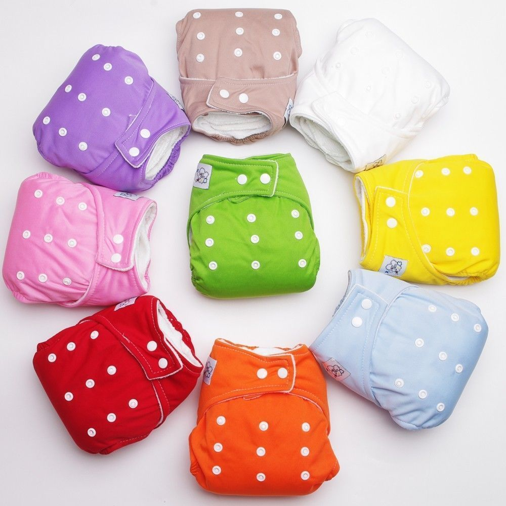 Hot 1PCS Reusable Baby Nappy Cloth Diapers Soft Covers Washable Free Size Adjustable Fraldas Winter Summer Version(China (Mainland))