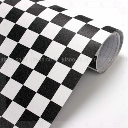 Eco-friendly pvc black and white mosaic tile wall paper waterproof bathroom kitchen Plastic vinyl self adhesive wallpaper roll c(China (Mainland))