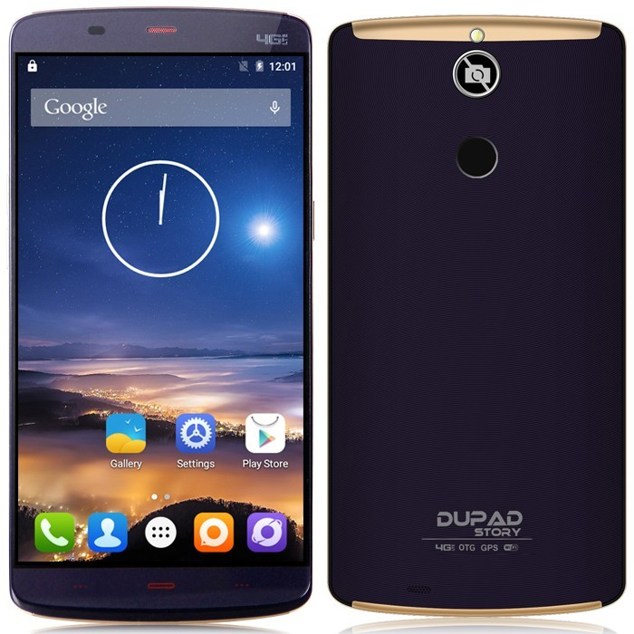 Dupad Story F1 No Camera NO GPS 4G Smartphone Fringerprint ID MT6753 64bit Octa Core 1.3GHz Android 5.1 2GB/16GB 5.5 Inch OTG(China (Mainland))