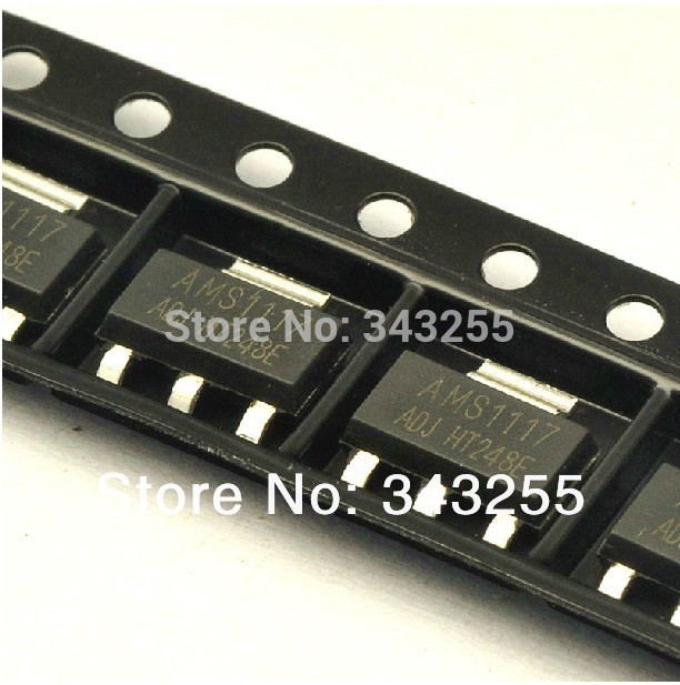 Free Shipping 100PCS/LOT Original AMS1117-5.0 AMS1117-5V AMS1117 LM1117 1117 Voltage Regulator  We only provide good quality