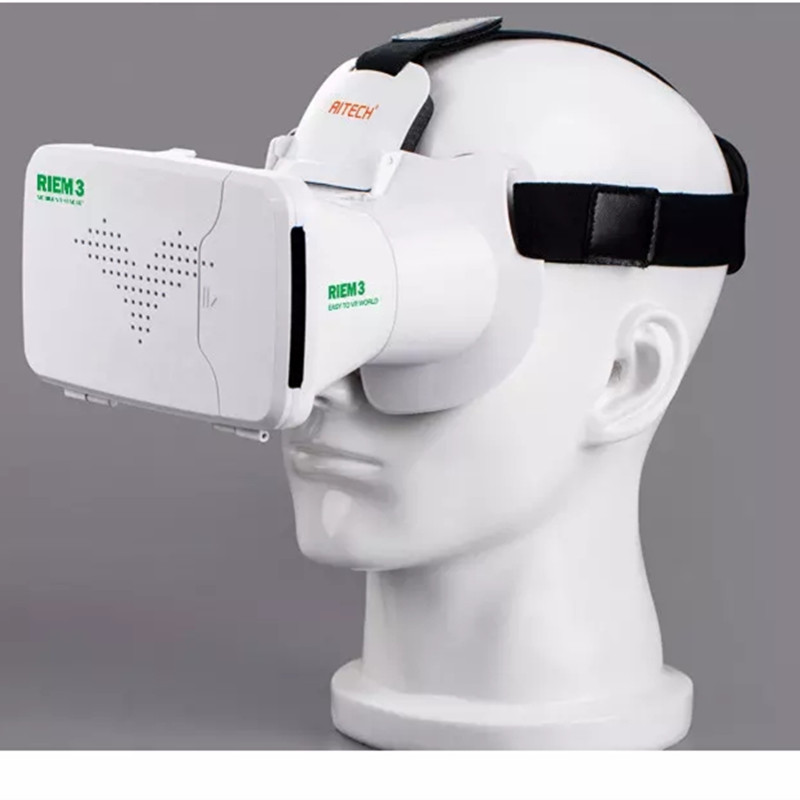 New Ritech <font><b>III</b></font> Update from Ritech II version 3D VR Box Virtual Reality Glasses With AR Google Cardboard for 4.0-6.0 inch Phone