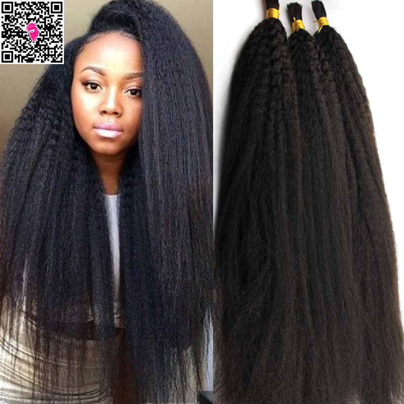 Crochet Hair Kinky Straight : Crochet Braids With Straight Human Hair Compare prices on kinky yaki ...