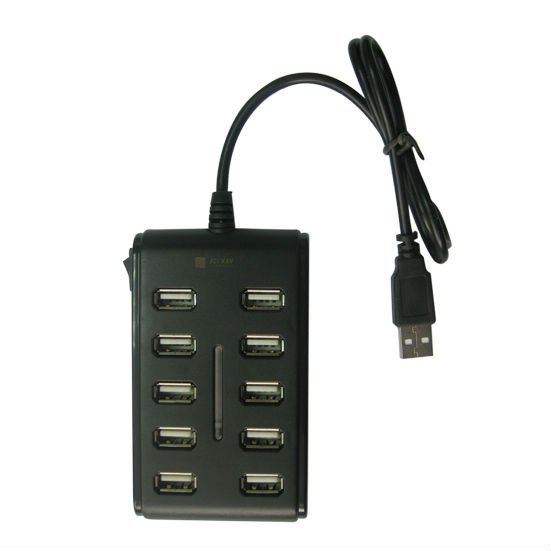 Free Shipping 10 Port USB 2.0  HUB ,BUH102
