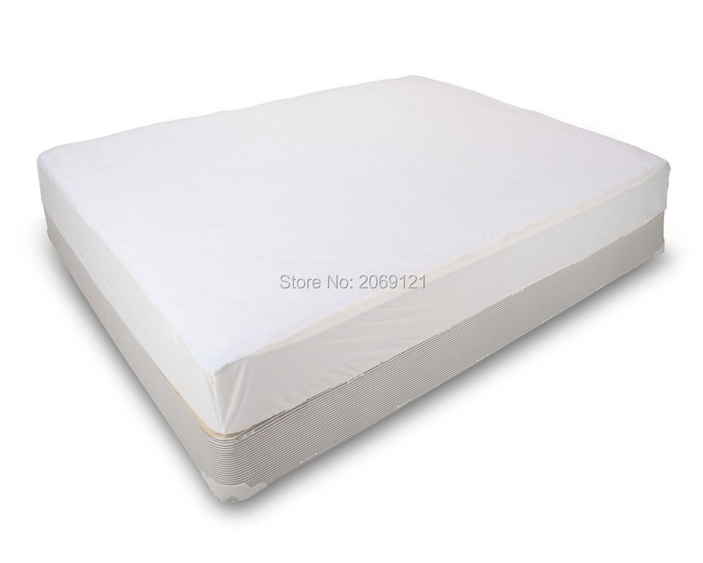 80X200cm Waterproof Smooth Top Hypoallergenic Mattress Protector Against Dust Mites And Bacteria Fitted Sheet Mattress Cover(China (Mainland))