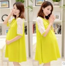 2016 summer new maternity women T-shirt Korean loose long summer T-shirt dress women(China (Mainland))