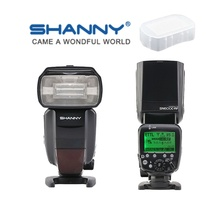 Buy SHANNY SN600C-RF Build-in 2.4G Wireless Radio TTL Slave Flash HSS 1/8000s Canon DSLR for $144.38 in AliExpress store