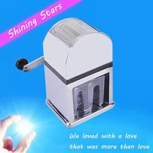 Для дома использования вода — льдогенератор льда дробилка машина вручную руководство модель. Лед дробилка SBJ-02