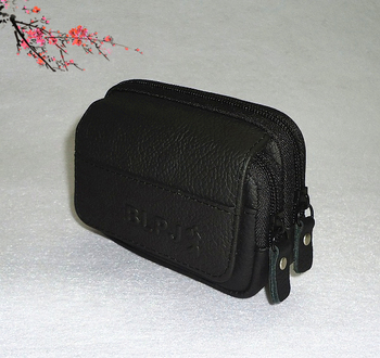 For Cowhide mobile phone cross packages genuine leather mobile phone bag bags mobile phone wallet  waist pack coin purse