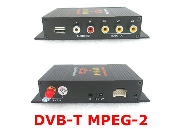 Car digital TV DVBT digital TV Mpeg2 DVB-T MPEG-2 Digital TV receiver(China (Mainland))