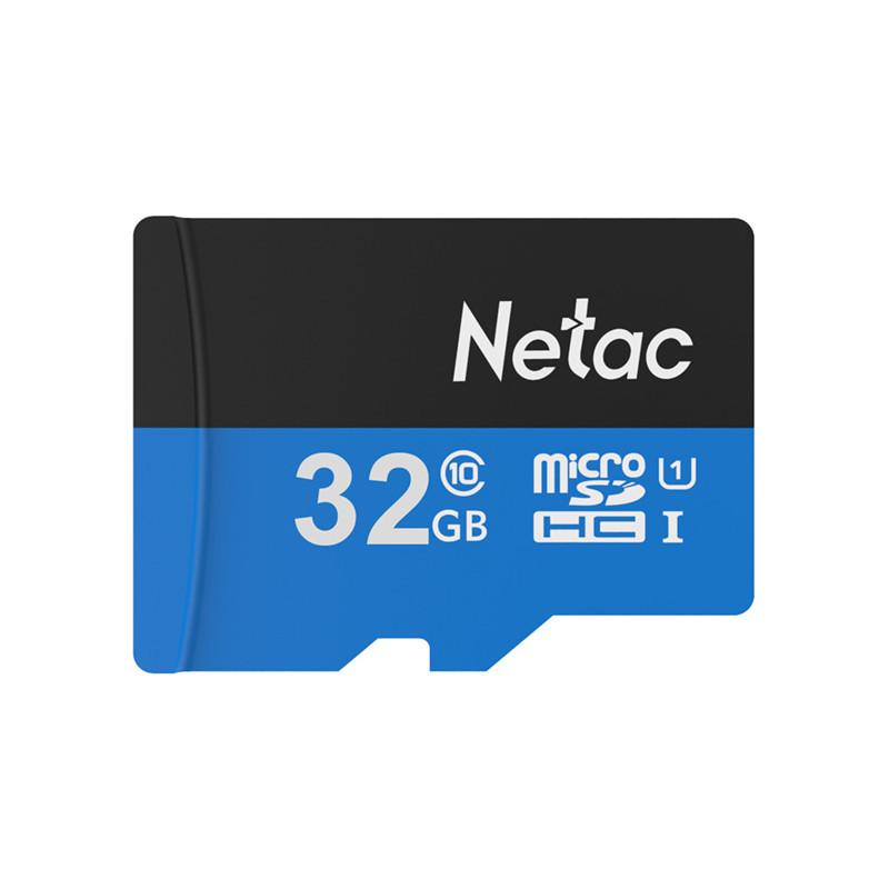 Netac Original 64GB 128GB Micro SD Card 16GB 32GB UHS-I Flash Memory Card Microsd TF Card for Camera Smart Phone MP3 PC Class 10