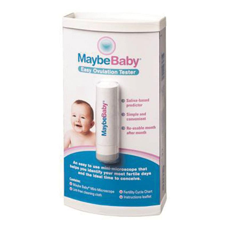 Maybe Baby Easy Re-usable Saliva Ovulation Tester, Fertility Test, Hot product Free shipping(China (Mainland))