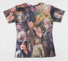 The Walking Dead Daryl Dixon T-Shirt – Unisex 3D Printed Tops Tees