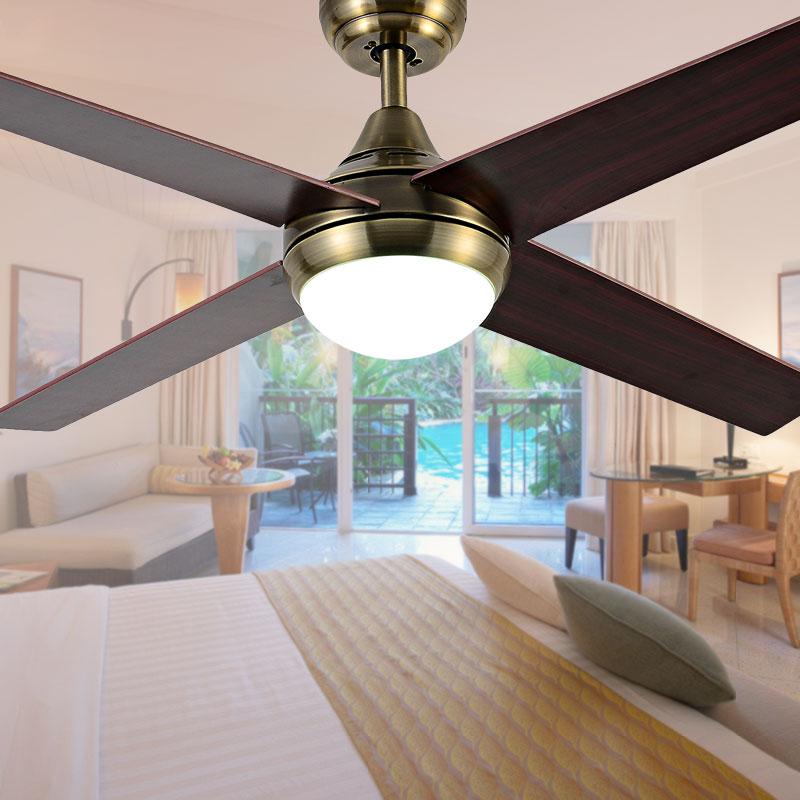 Ventilateurs De Plafond En Bois Promotion Achetez des