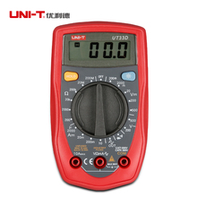 Buy UNI-T UT33D Digital Multimeters Palm Size DC/AC Voltage meter DC Current Resistance Tester Manual Range for $11.33 in AliExpress store
