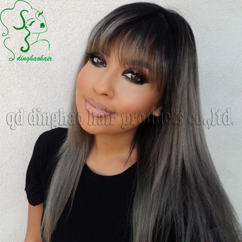 graceful hair makeover greyblack hair colour